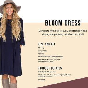 Agnes & Dora Bloom Dress Navy
